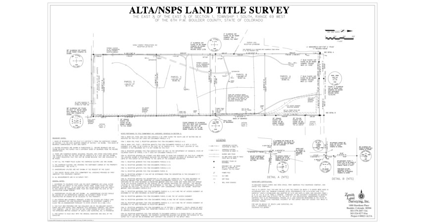 ALTA/NSPS Land Title Surveys